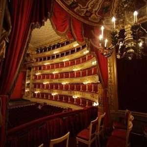 Alla Scala Opera house, Milan