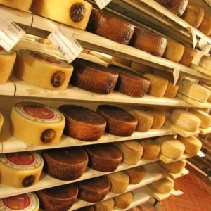 Cheese tasting, Arona, Lake Maggiore