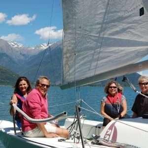 Private sailing boat tour on Lake Como