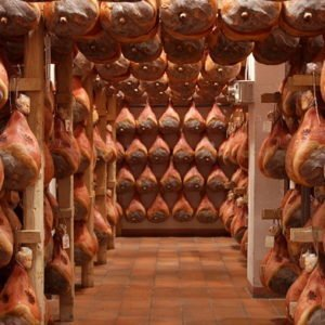 Parma ham Masterpieces in art and food