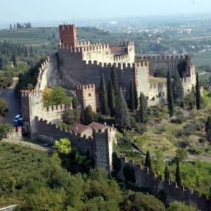 Soave - the medieval village