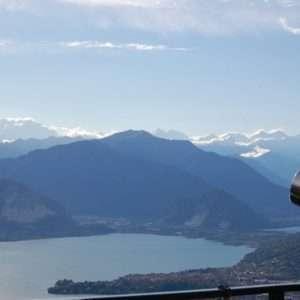 Lake Maggiore, panoramic view
