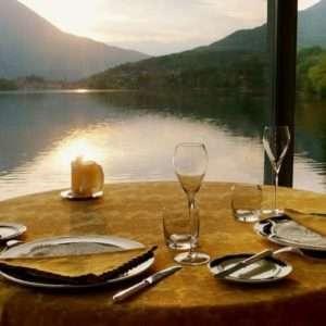 Romantic dinner, Michelin restaurant