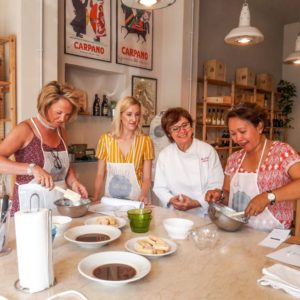 A private cooking class in Verona