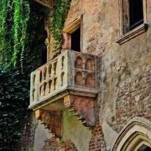 Verona by Shakespeare - the balcony