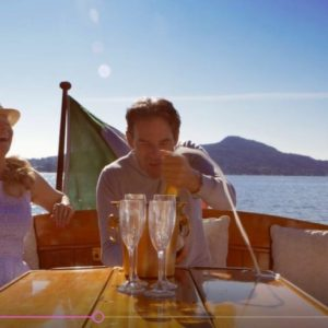 An evening romantic cruise with jazz music on board
